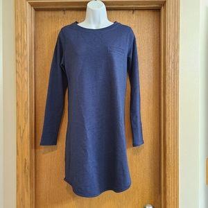 Lucy Blue Sweatshirt Dress M